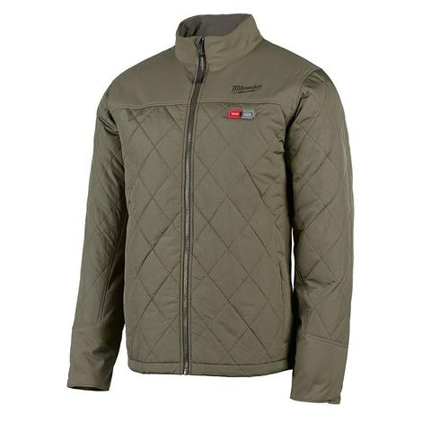 Milwaukee M12™ Heated Axis™ Jacket Only L (Olive Green)