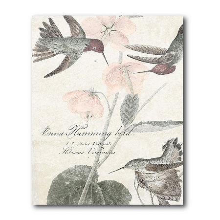 Courtside Market Soft Hummingbirds Canvas Art, One Size , Multiple Colors