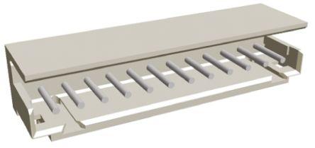 TE Connectivity , AMP CT, 12 Way, 1 Row, Right Angle PCB Header (5)