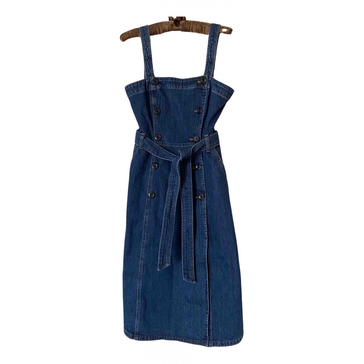 J.crew \N Navy Denim - Jeans dress for Women XS International
