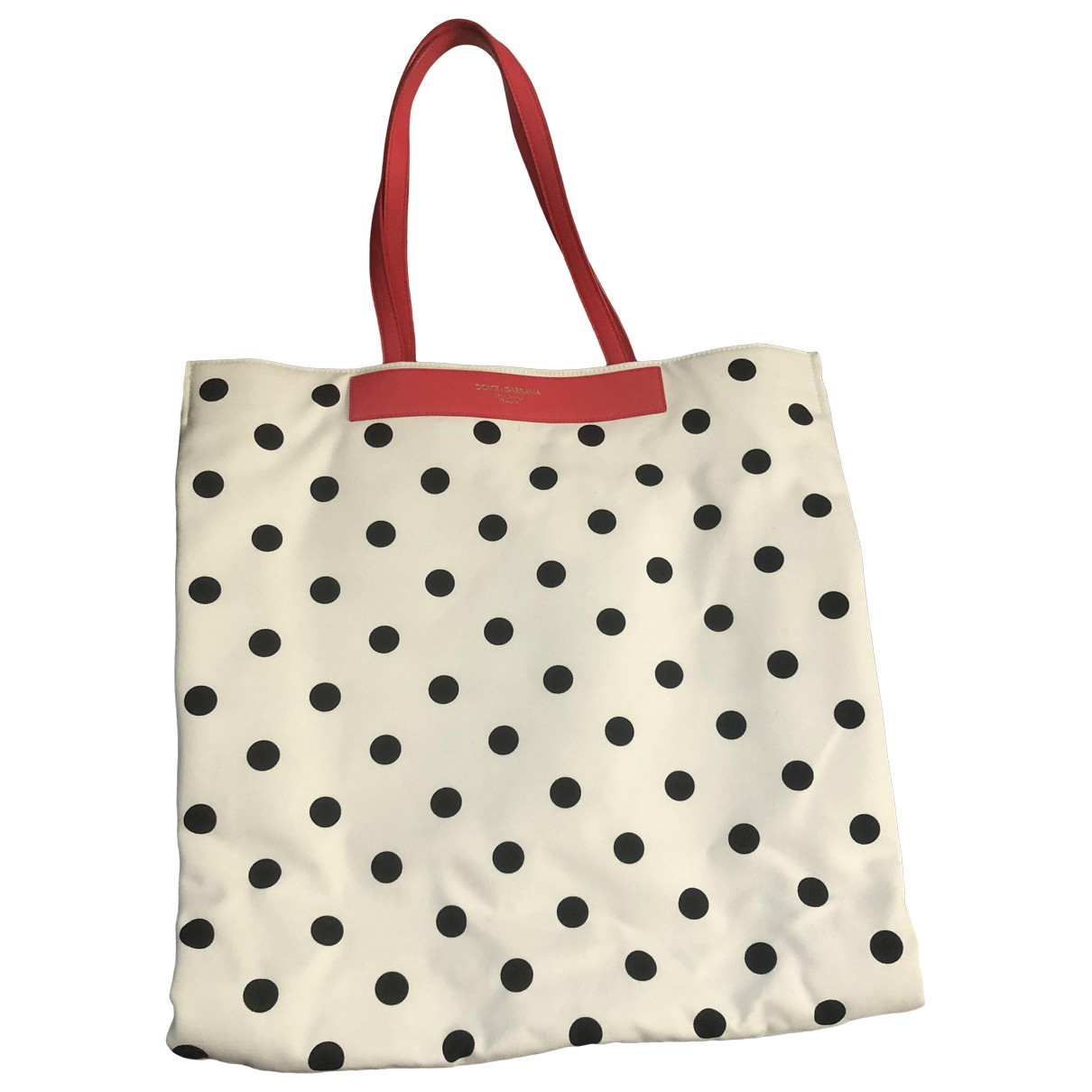 Dolce & Gabbana \N White Cotton handbag for Women \N