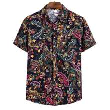 Men Paisley Print Shirt