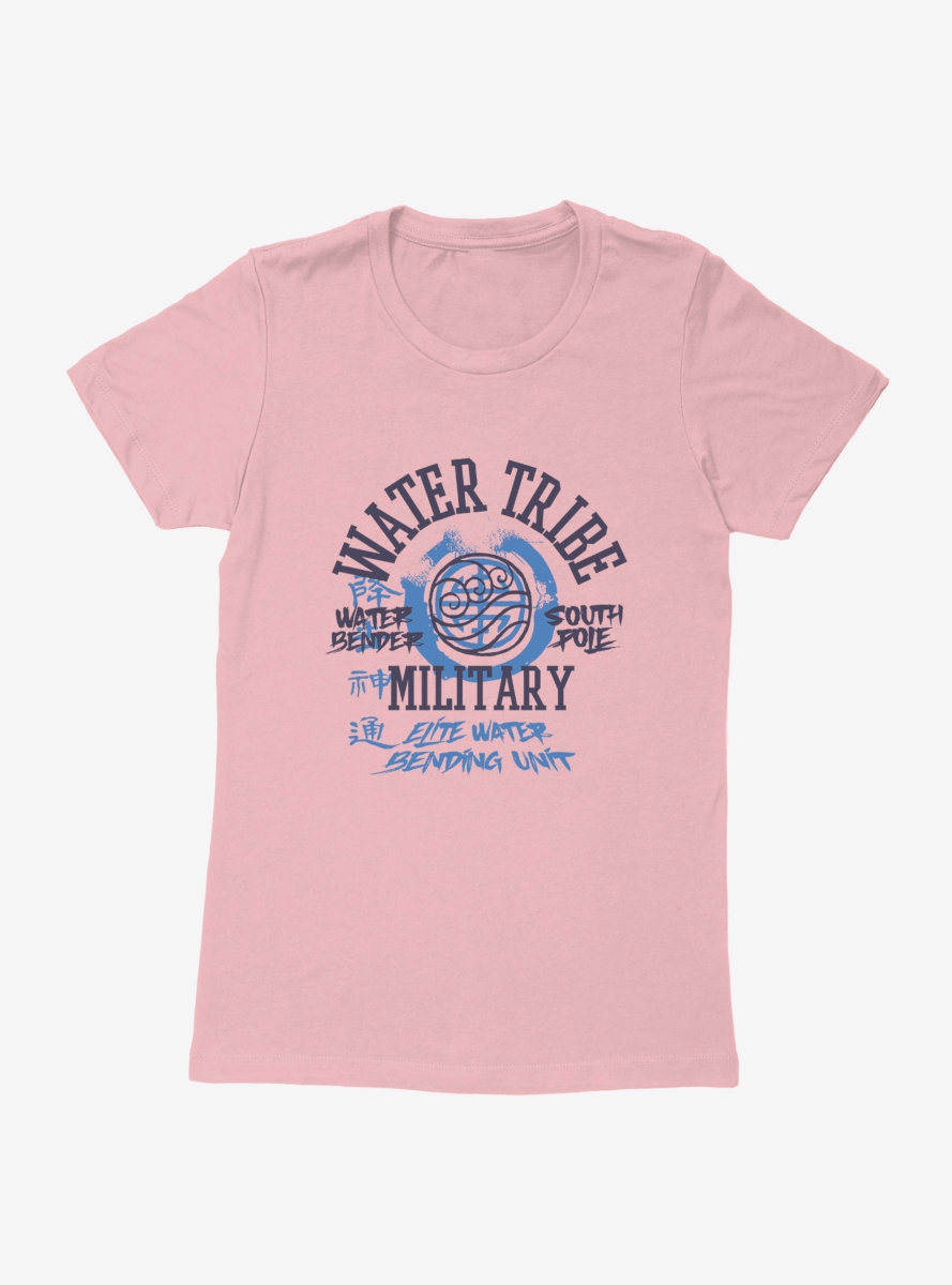 Avatar: The Last Airbender Water Tribe South Pole Womens T-Shirt