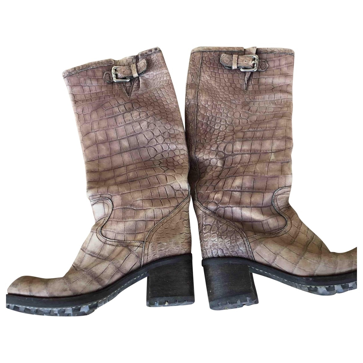 Free Lance Geronimo Leather Boots for Women 38 EU