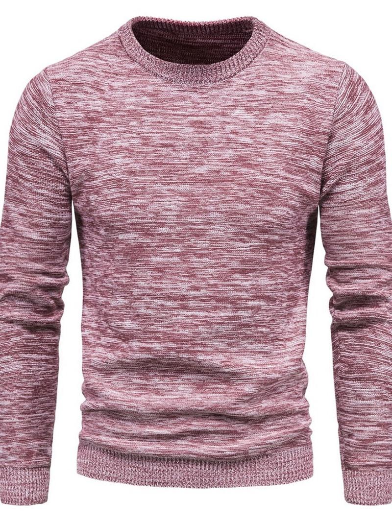 Ericdress Round Neck Standard European Slim Sweater