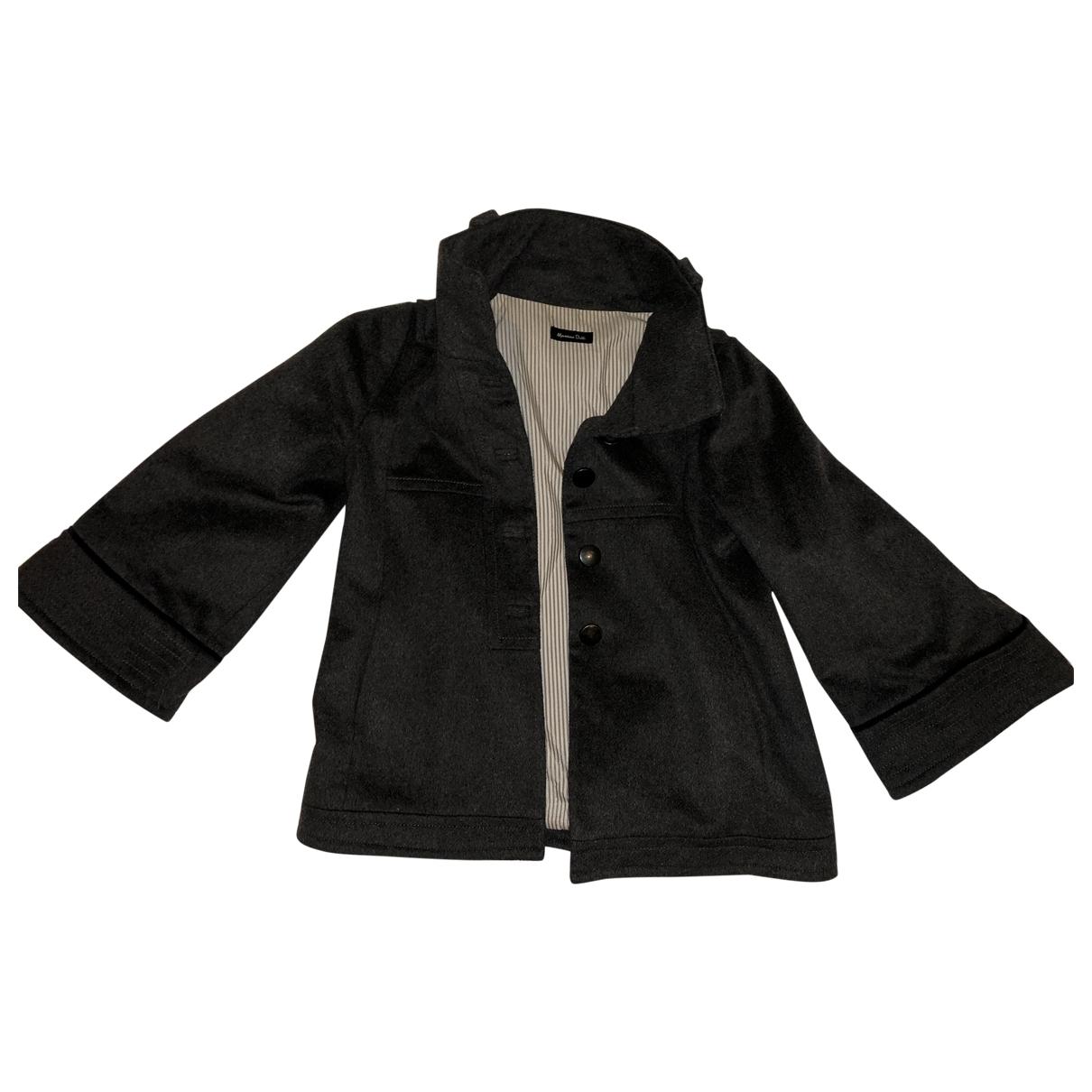 Massimo Dutti \N Grey Wool jacket for Women S International