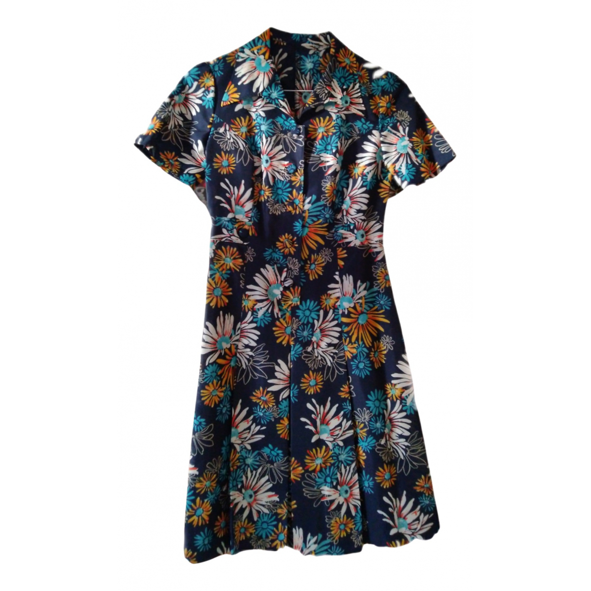 Non Signé / Unsigned \N Blue dress for Women 42 IT