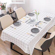 Plaid Pattern Tablecloth