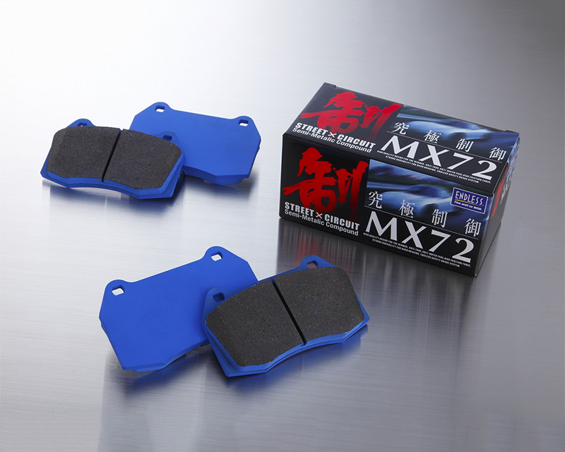 Endless EP 394/EP 395 MX72 F/R SET Front/Rear Set Brake Pad MX72 Mazda MX-5 Miata 02-05