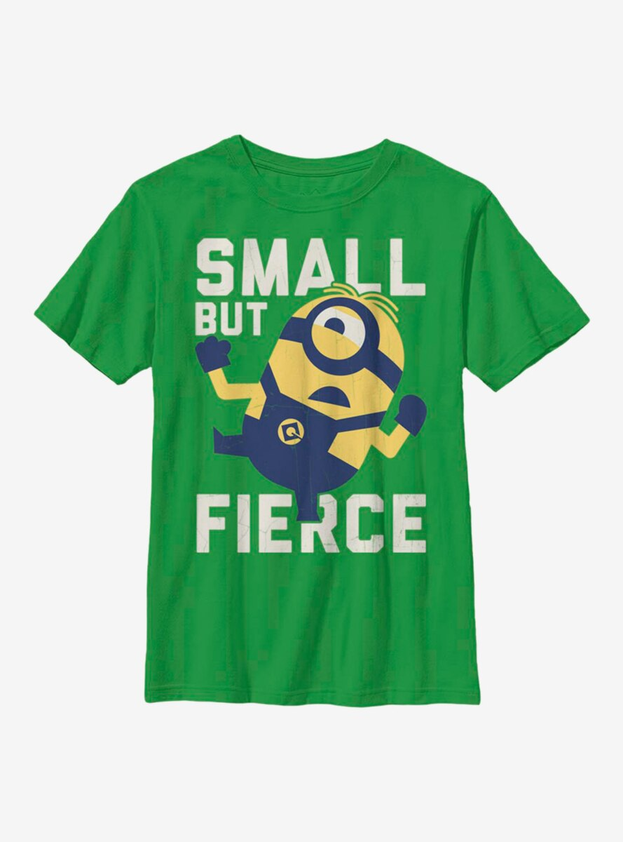 Despicable Me Minions Small and Fierce Youth T-Shirt
