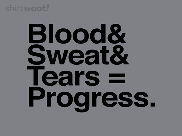 Blood Sweat & Tears T Shirt