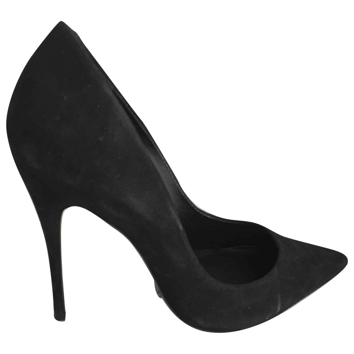 Schutz \N Black Suede Heels for Women 37 EU
