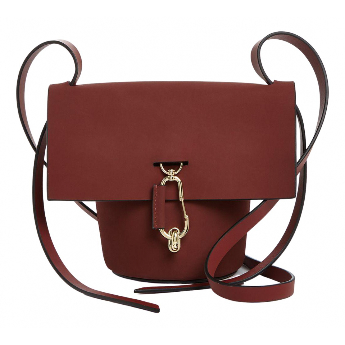 Zac Posen \N Red Leather handbag for Women \N