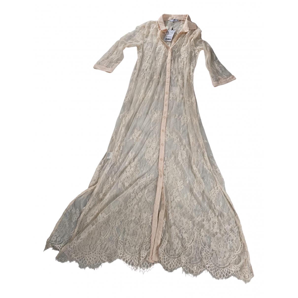 Mango \N Pink Lace dress for Women M International