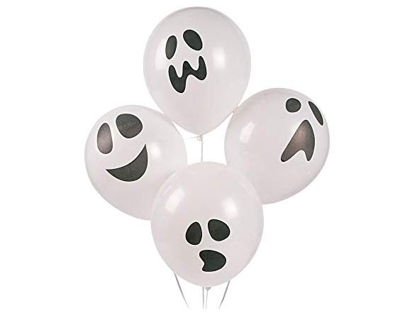 Halloween Ghost Party Balloons