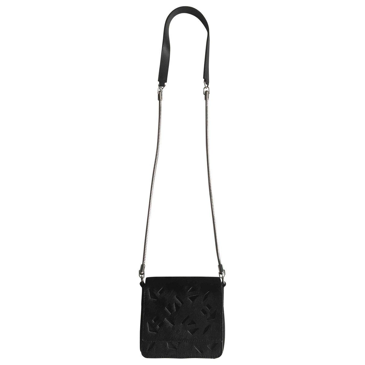 Kenzo \N Black Pony-style calfskin handbag for Women \N