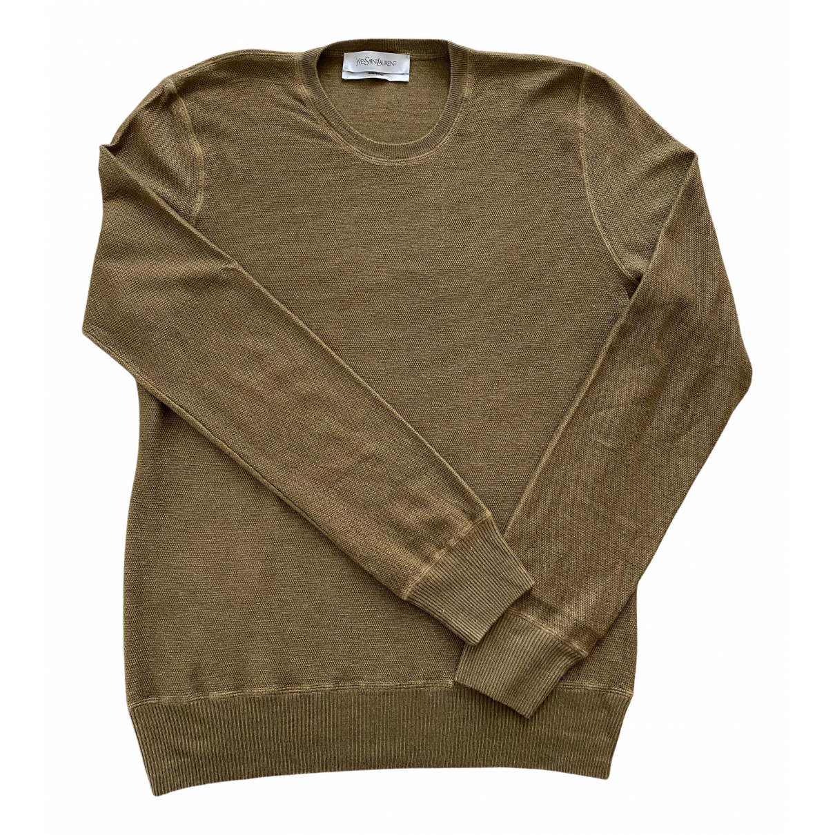 Yves Saint Laurent \N Camel Cashmere Knitwear & Sweatshirts for Men XL International