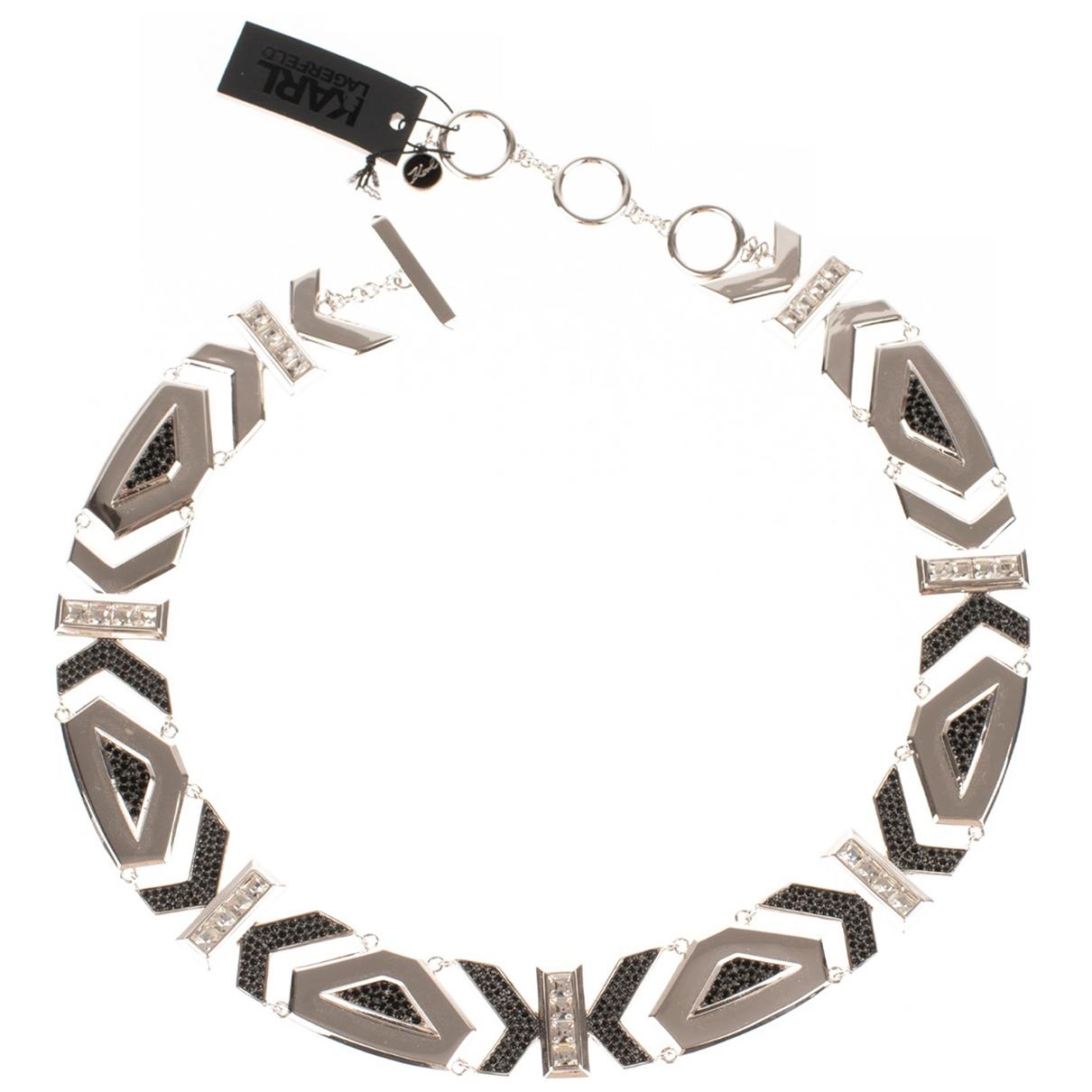 Karl Lagerfeld \N Silver Metal necklace for Women \N