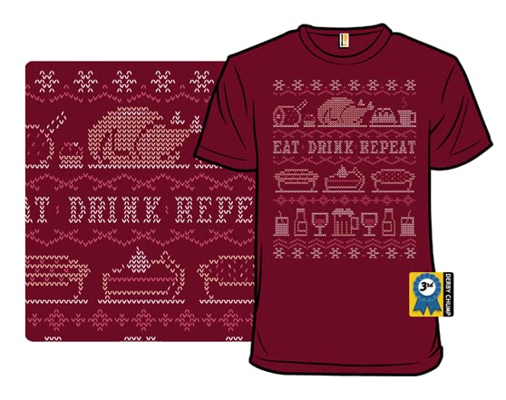 Eat Drink Repeat T Shirt