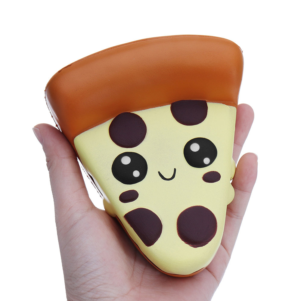 Kawaii Pizza Squishy Soft Slow Rising Toy With Packing Bag
