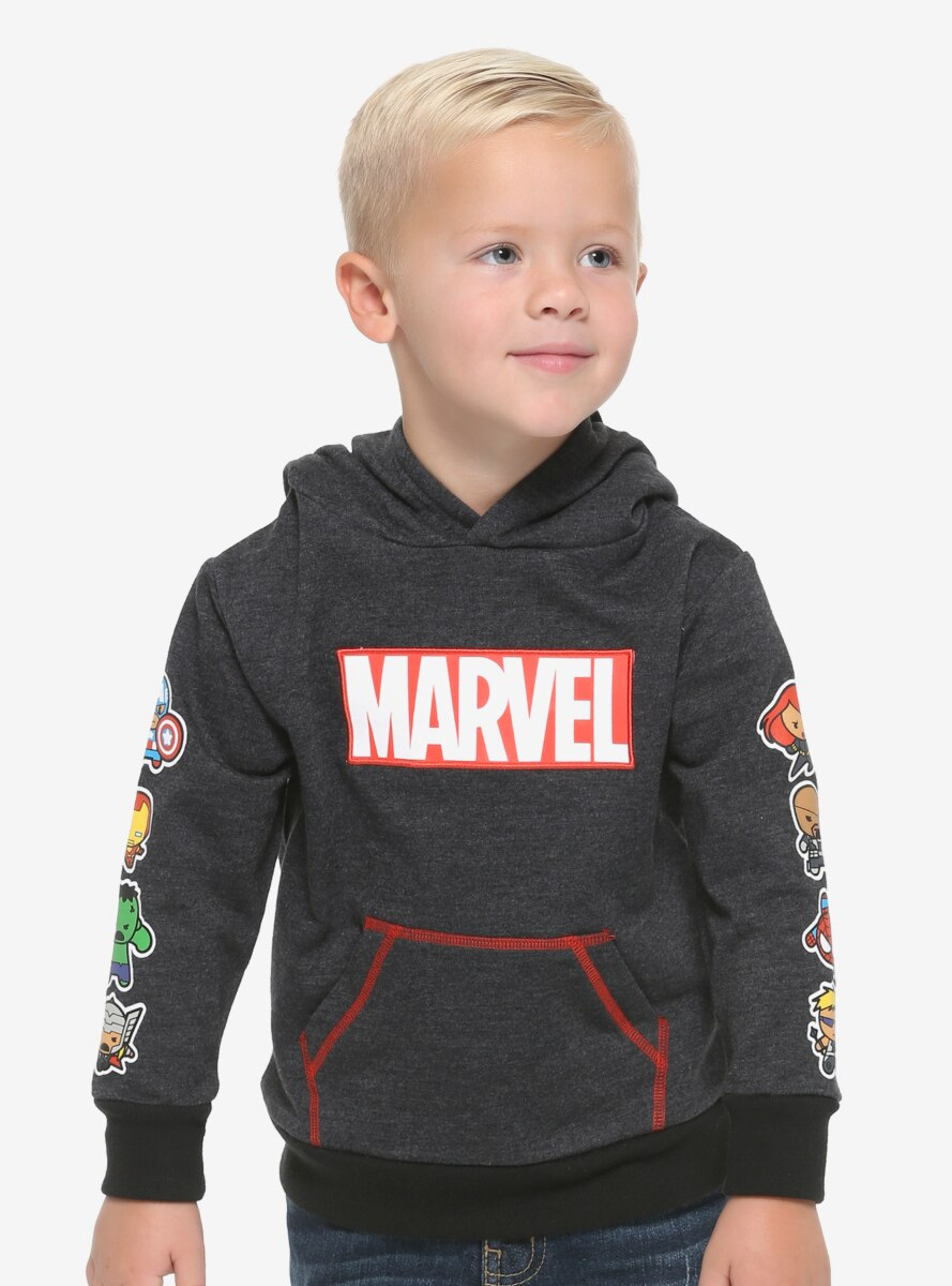 Marvel Chibi Heroes Toddler Hoodie - BoxLunch Exclusive