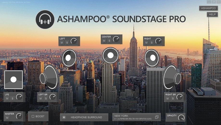 Ashampoo® Soundstage Pro
