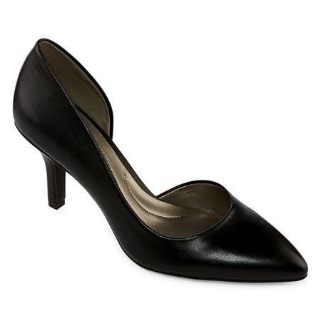 east 5th Womens Daven Closed Toe Stiletto Heel Pumps, 6 Medium, Black
