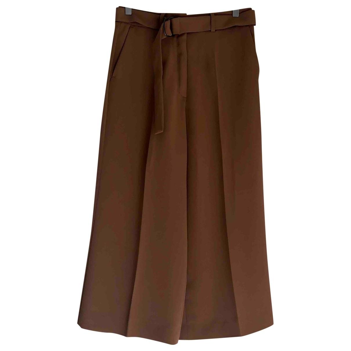 Sport Max \N Beige Trousers for Women 34 FR