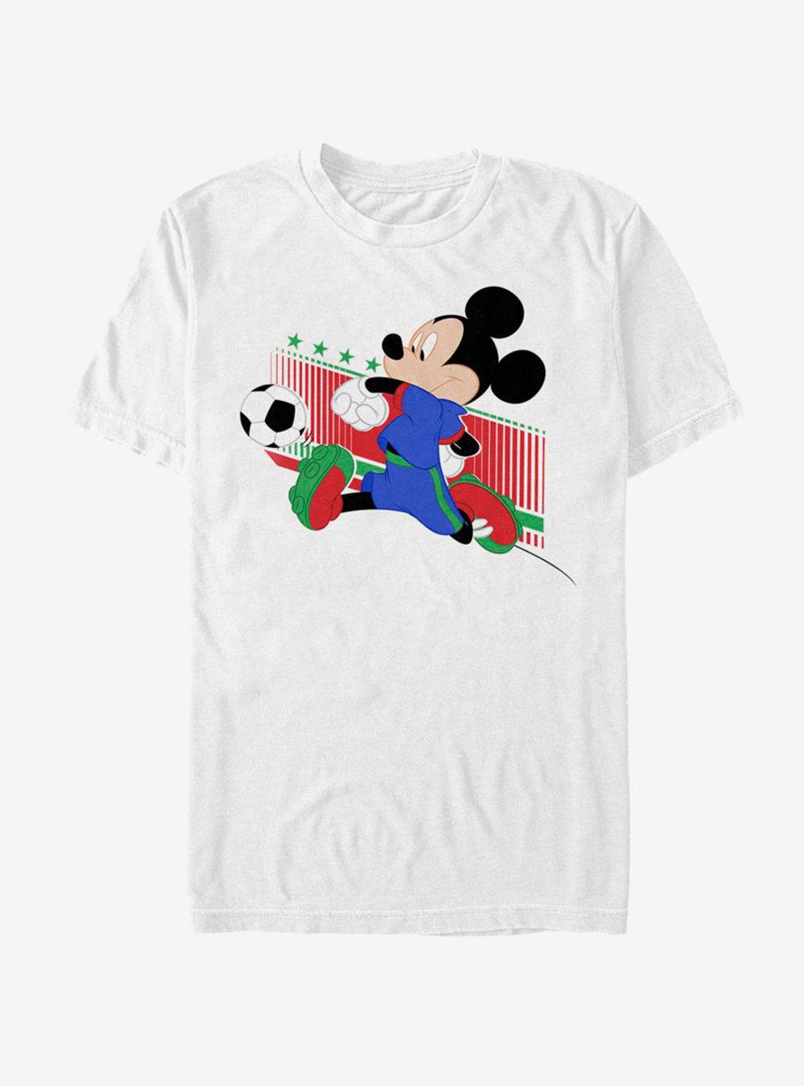 Disney Mickey Mouse Soccer Kick T-Shirt