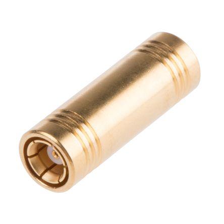 Radiall Straight 50Ω RF Adapter SMB Socket to SMB Socket 4GHz