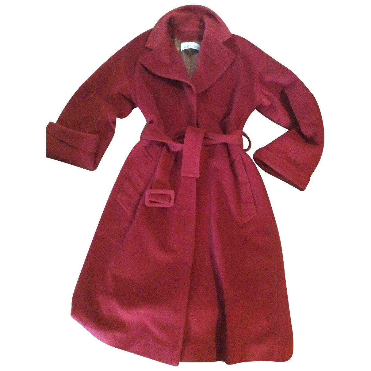 Non Signé / Unsigned \N Wool coat for Women 36 FR