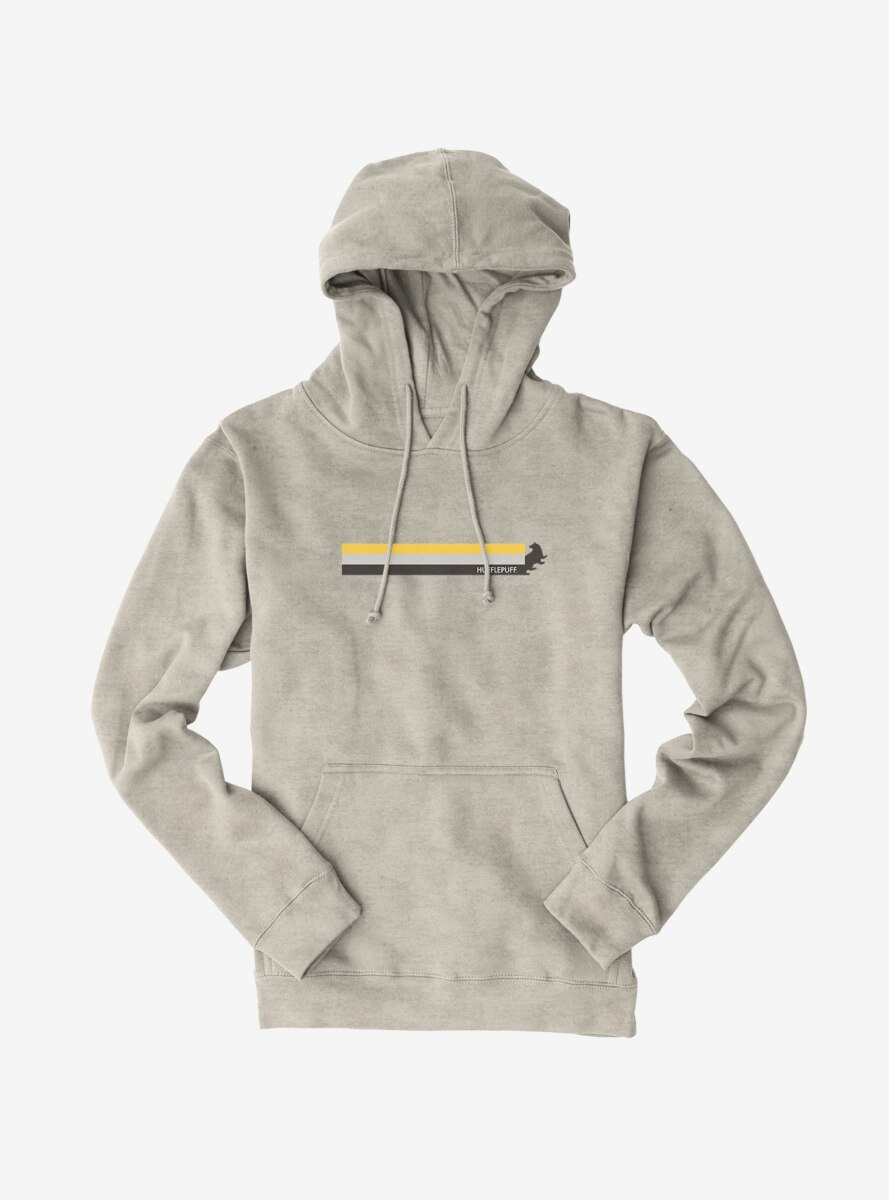 Harry Potter Hufflepuff Colors Banner Hoodie