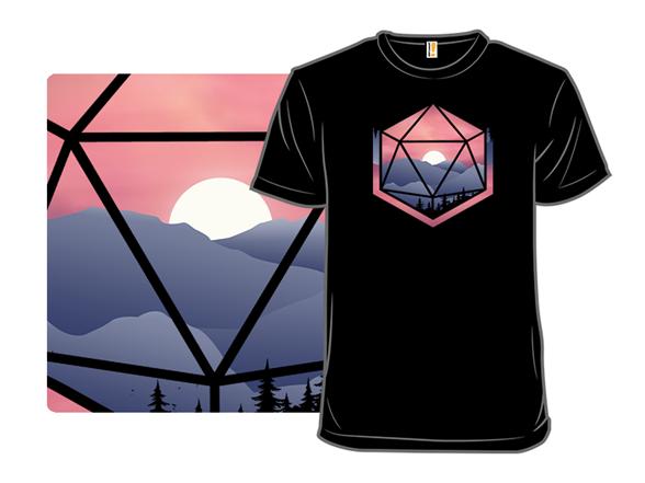 D20 Mountain T Shirt