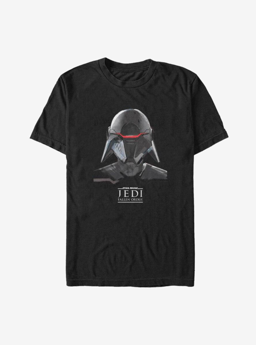 Star Wars Jedi Fallen Order Inquisitor Mask T-Shirt