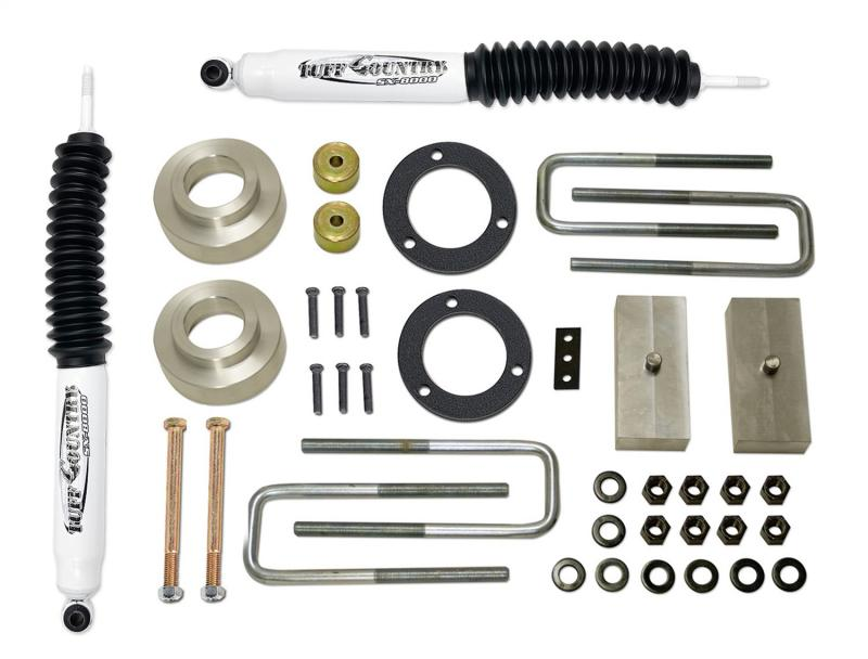 Tuff Country 52925KN Complete Kit (w/SX8000 Shocks)-2.5in. Toyota Tundra 2000-2006