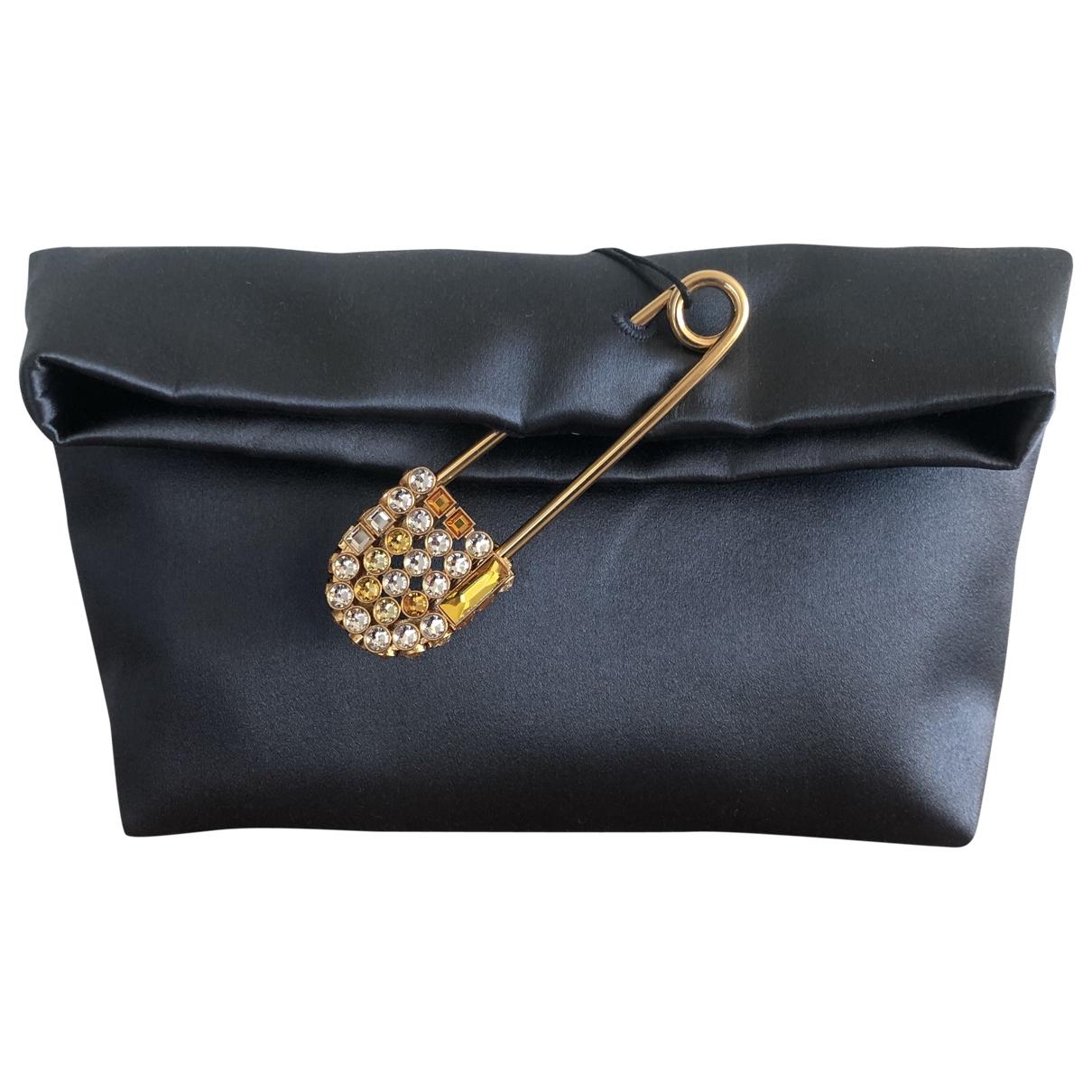 Burberry \N Grey Silk Clutch bag for Women \N