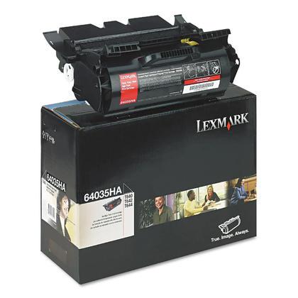 Lexmark 64035HA Original Black Toner Cartridge High Yield for T640 T642 T644 Series Printers