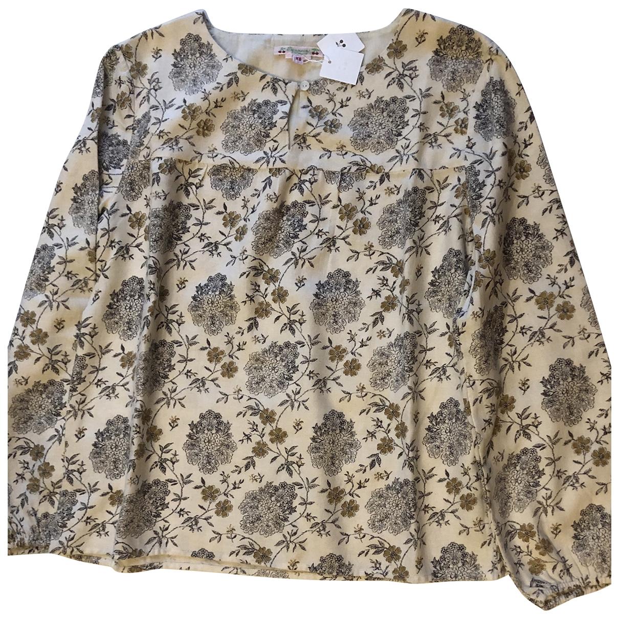 Bonpoint \N Ecru Cotton  top for Women 36 FR