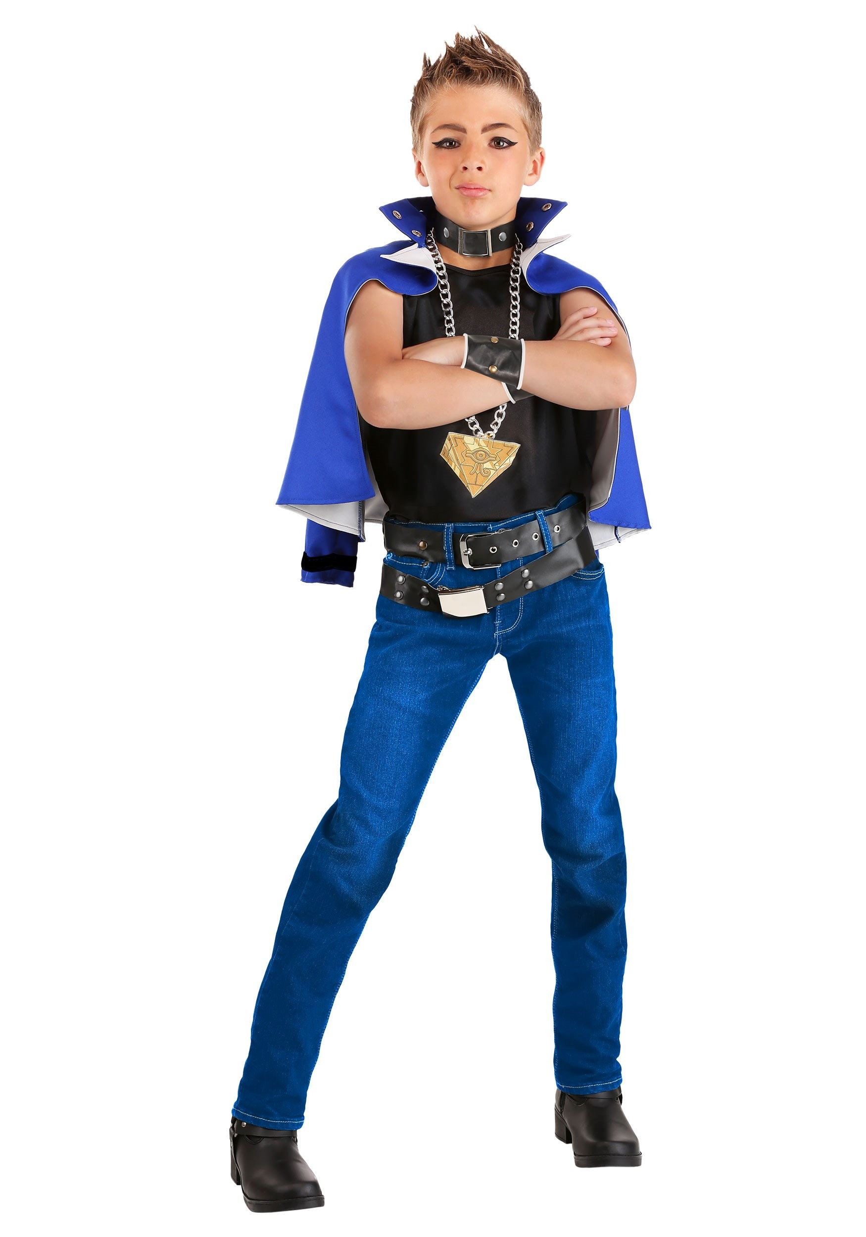 YuGi Boy's Costume Yu-Gi-Oh | Anime Costume for Boys