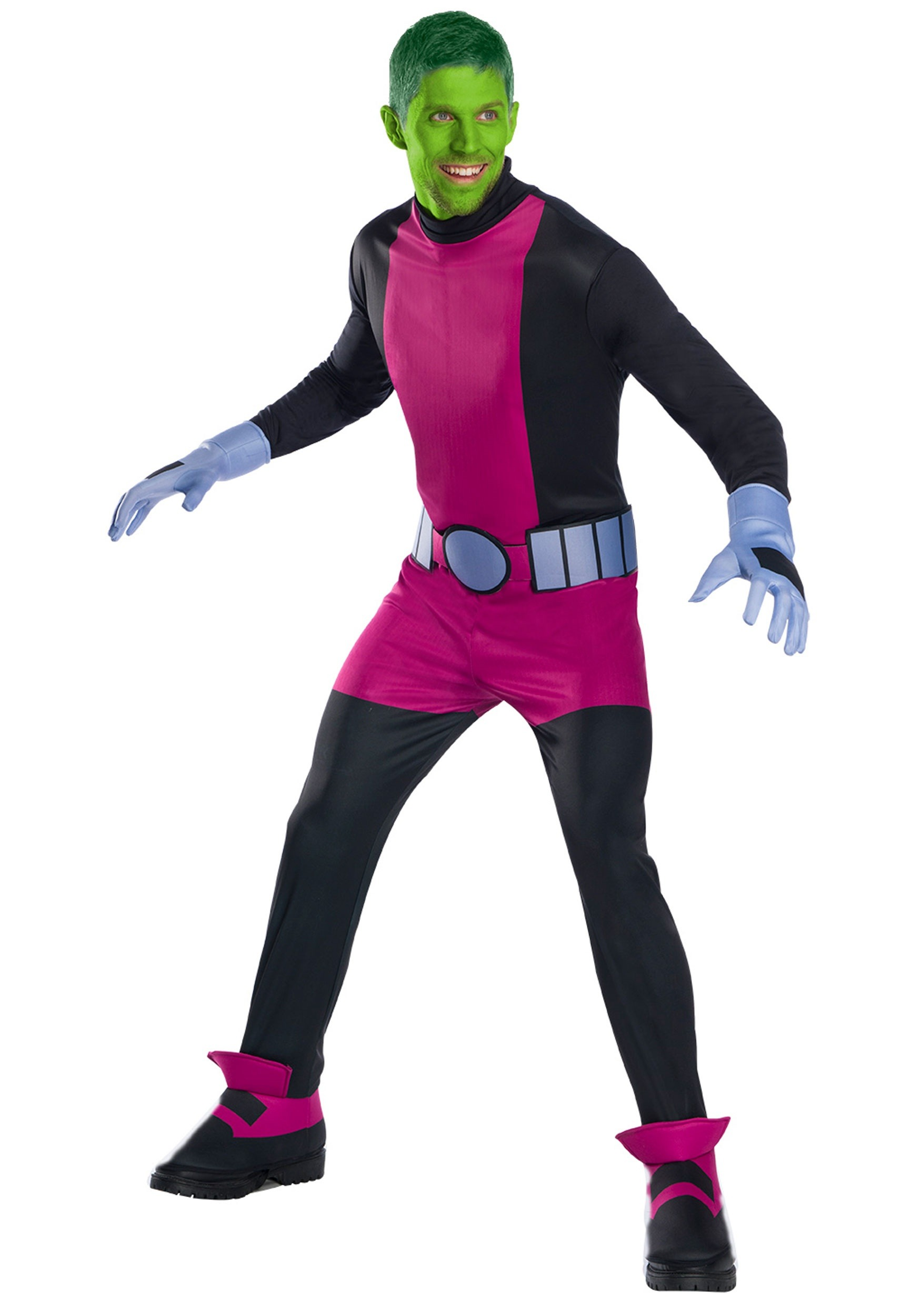 Teen Titan Beast Boy Costume for Men