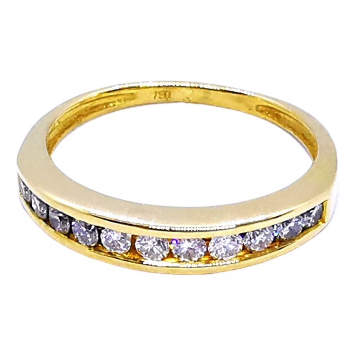Autre Marque \N Gold Yellow gold ring for Women 50 EU