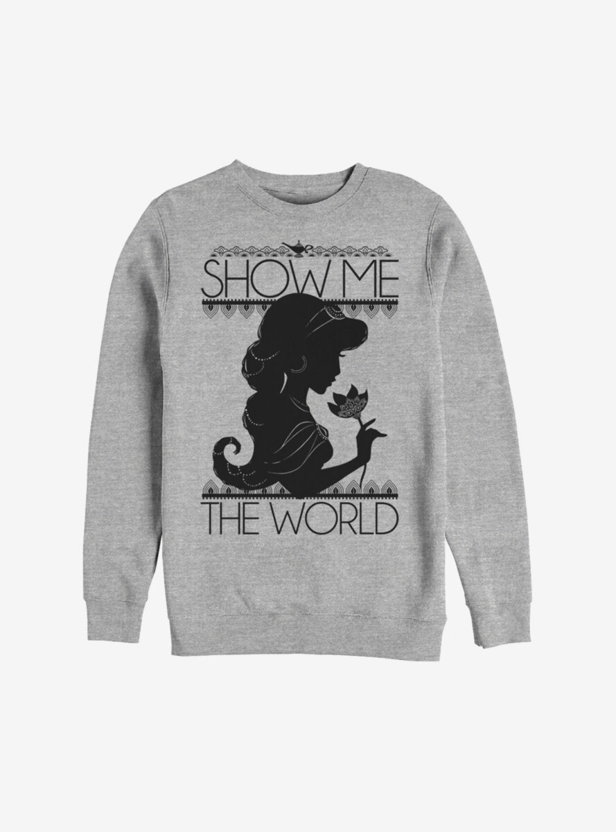 Disney Aladdin Jasmine Show Me The World Sweatshirt