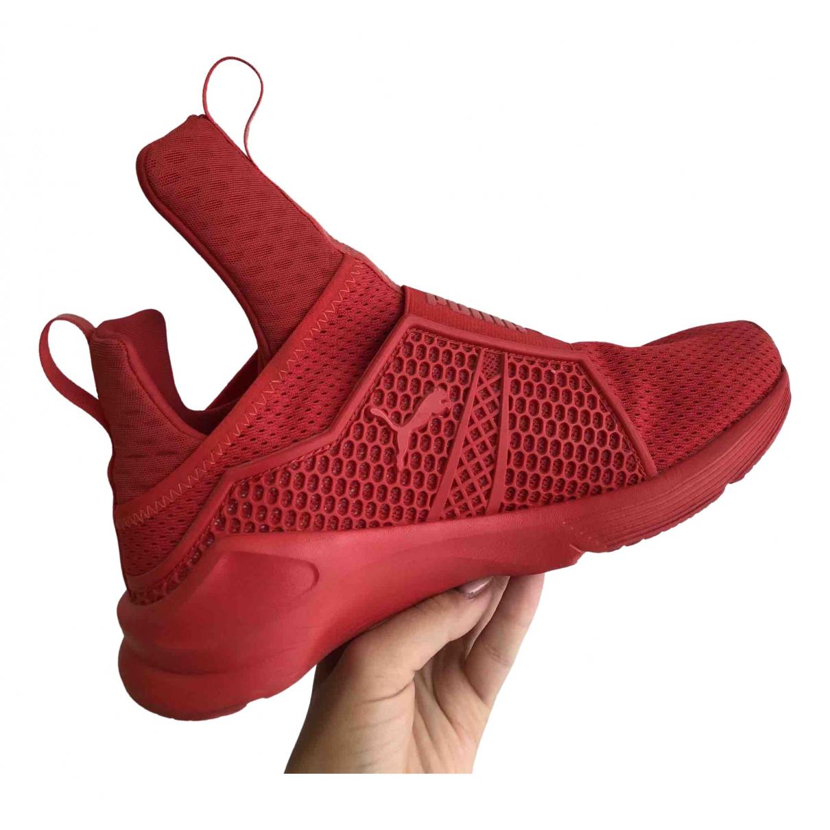 Fenty X Puma \N Red Cloth Trainers for Women 5.5 UK