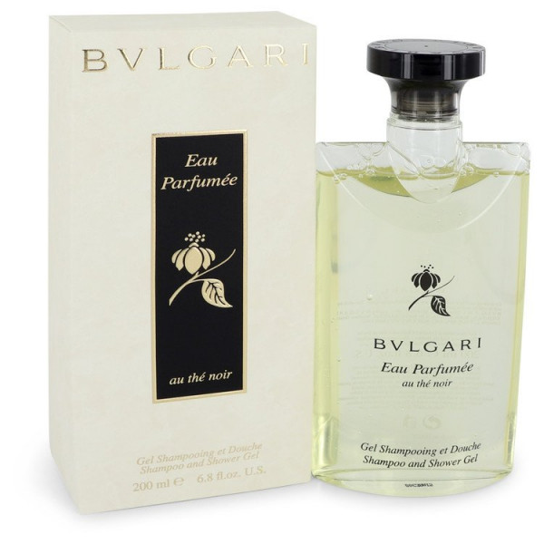Bvlgari - Eau Parfumée Au Thé Noir : Shower Gel 6.8 Oz / 200 ml
