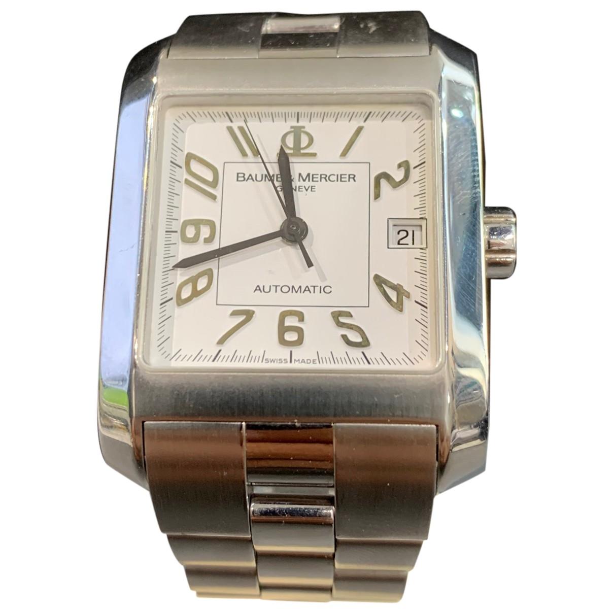 Baume Et Mercier Hampton Steel watch for Men \N