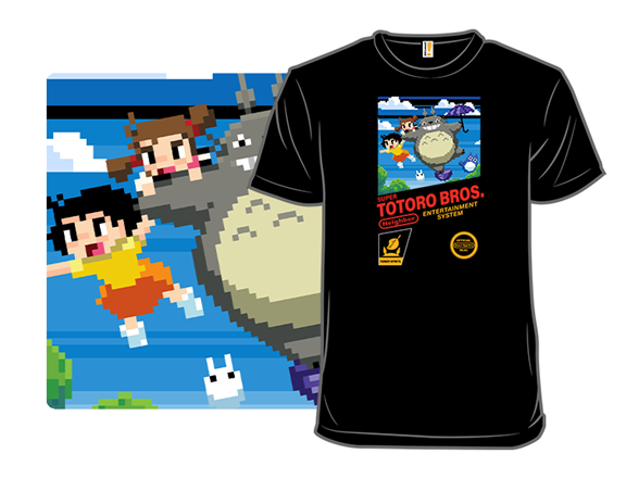 Super Totoro Bros T Shirt