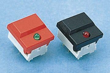 C & K Single Pole Double Throw (SPDT) Keyboard Switch, 10 mA@ 24 V dc, -25 → +85°C