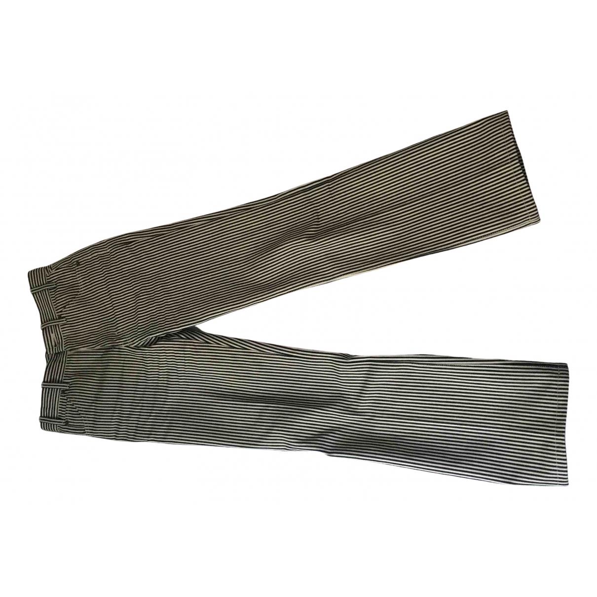 Celine \N Multicolour Cotton Jeans for Men 27 US