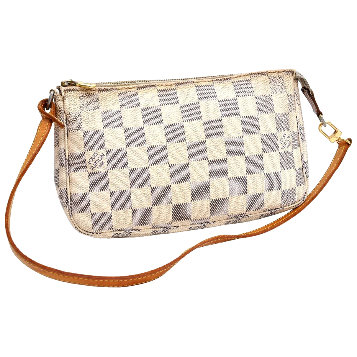 Louis Vuitton \N White Cloth Clutch bag for Women \N