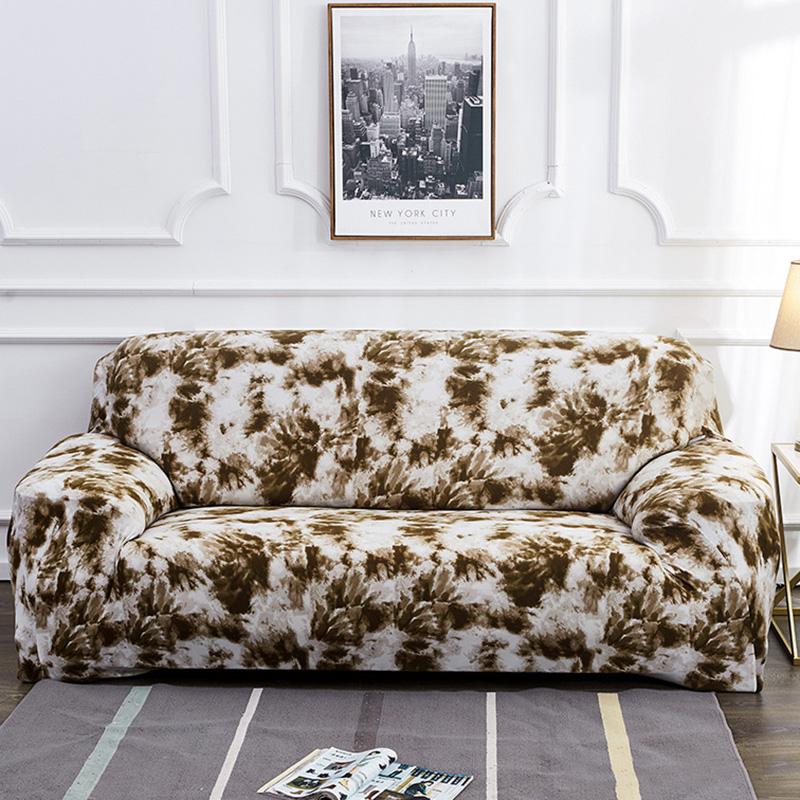 All-Inclusive Sofa Covers Are Popular For Graffiti Elastic Sofa Towel Cushion